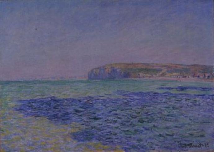 "Claude Monet: ""Shadows on the sea"""
