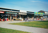 Munkebo Shopping Centre about July 1966