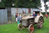 Den gamle traktor fra 1925