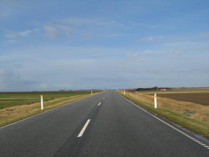 Digevejen mellem Rudbøl og Højer