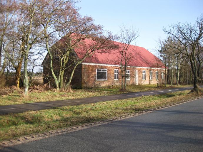 Det tidligere forsamlingshus i Vejers m.m.