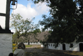 Øsrupgaard - mod gårdspladsen