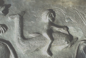 Dolphin-rider on the Gundestrup Cauldron