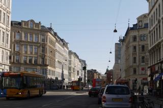 Lyskrydset mellem Nørre Farimagsgade og Frederiksborggade
