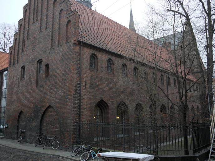Helligåndshuset på afstand