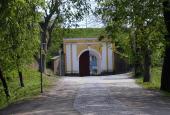 Fredericia Voldeport set indenfor volden
