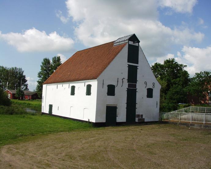 Slotsvandmøllen Tønder set fra Kongevej