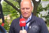 TV2 interviewer Saxochef, Bjarne Riis i Hammel