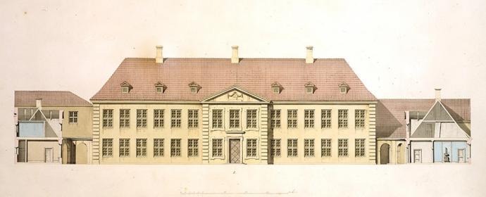 Det Kgl. Palæ, o. 1840