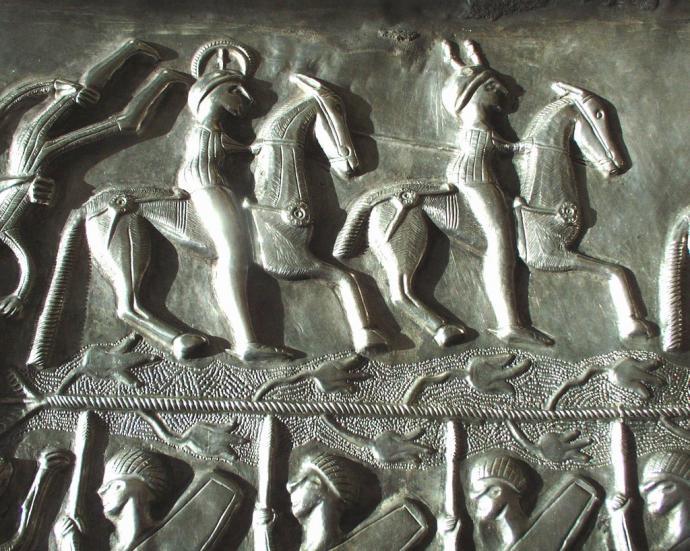 Horsemen on the Gundestrup Cauldron