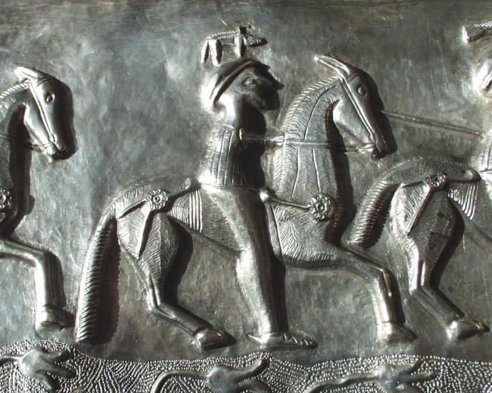 Horseman on the Gundestrup Cauldron