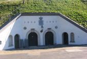 Charlottenlund Fort. Indgangen