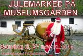 Postvognen på Museumsgården i Keldbylille