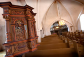 Prædikestolen Otterup kirke