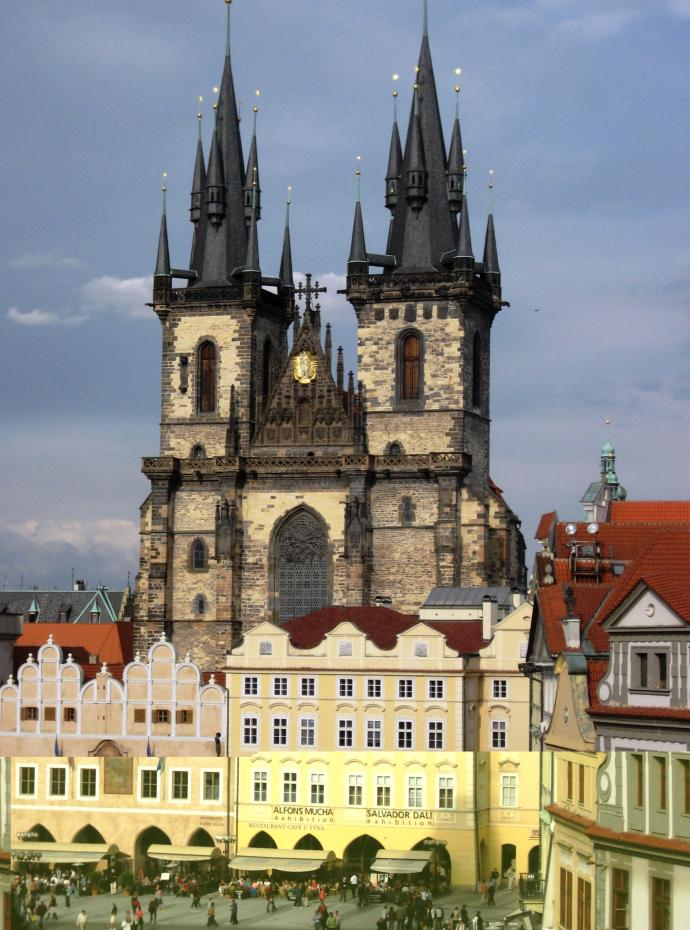 The Teyn Church, Prague