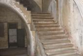 Prøvestenen, trappe til dækket