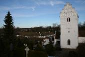 Udby præstegård, kirke