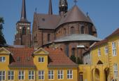 Roskilde Domkirke, fra øst