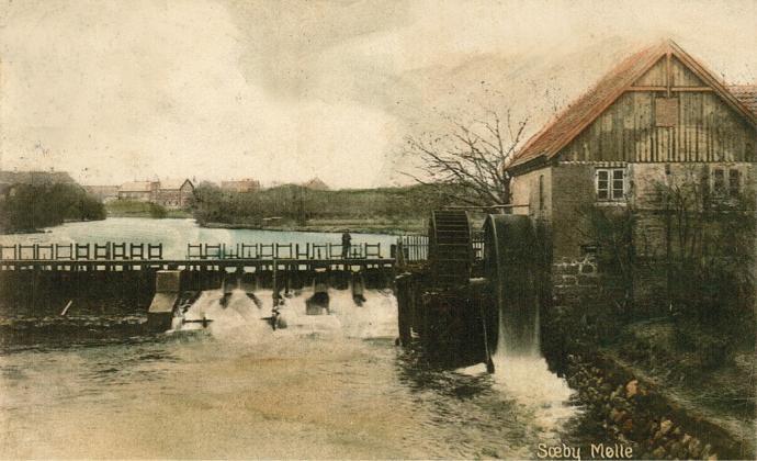 Sæby Vandmølle 1924