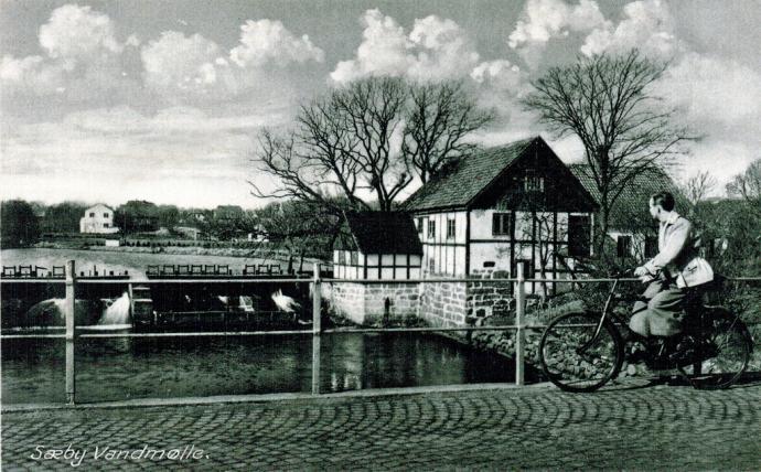 Sæby Vanmølle i 1940'erne