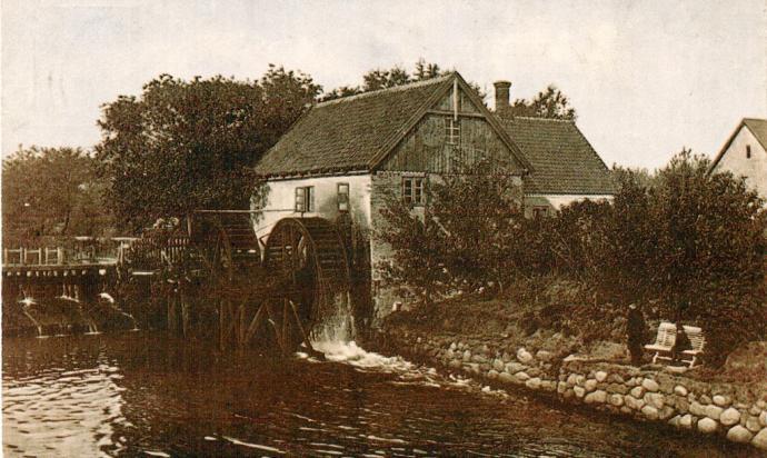 Sæby Vandmølle ca. 1910