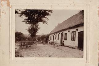 Rørvighuset omkring 1850