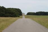 Vejen op til slottet