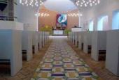 Gulv Skelager kirke