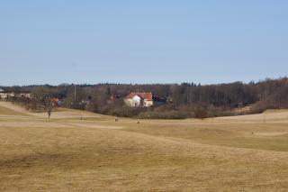 Skjoldenæsholm set fra Mortenstrupvej