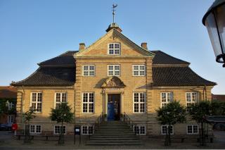 Viborgs gamle rådhus er byens smukkeste barokbygning