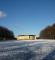 Slotsaksen i sne