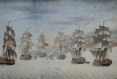 Søslaget ved Sj. Odde 1808.