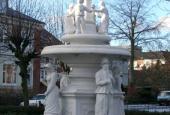 Springvandet i Eberts Villaby