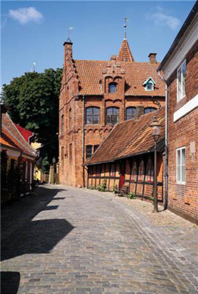 Taarnborg set fra Puggårdsgade