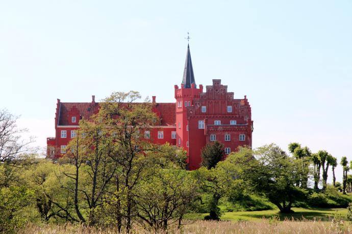Slot set fra parken