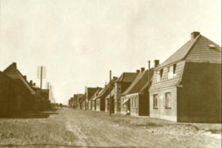 Thyborøn voksede sig til en rigtig by i 1930érne.