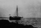 Stenfiskerfartøjet fra flugten i oktober 1943