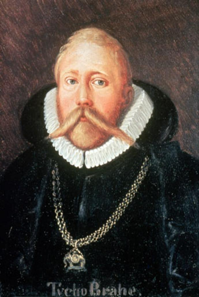 Portrait of the astronomer Tycho Brahe