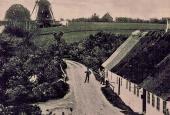 Blåbæk vand- og vindmølle ca. 1910