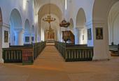 Vestervig kirke interiør