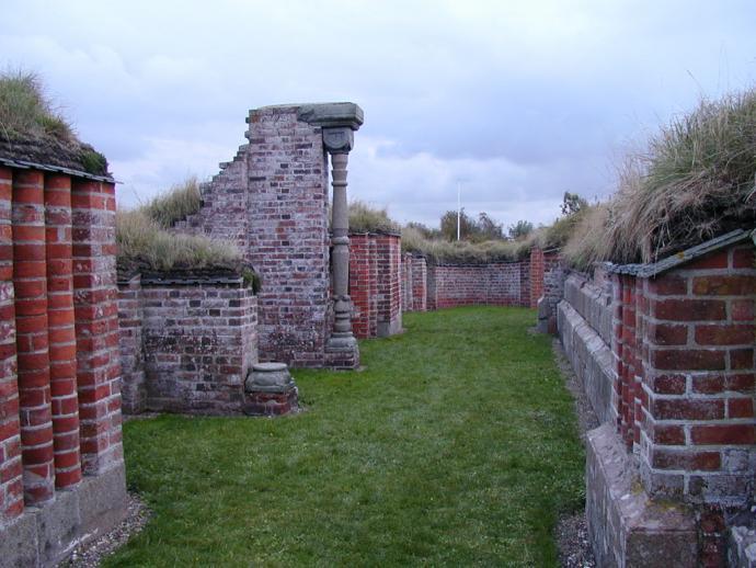 Vitskøl Kloster ruiner