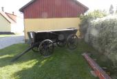 Gammel Hestevogn tilhørende museet ved Ramløse Mølle